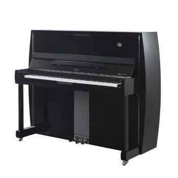 ブランズレオミラーARTシリーズアートデザインシリーズ縦型ピアノ子供家庭学校演奏初心者ピアノAlexa-2黒