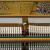 真珠江京珠真珠シリーズBUSP 233 Bブラック/ホワイト家庭用教育用縦型ピアノホワイト