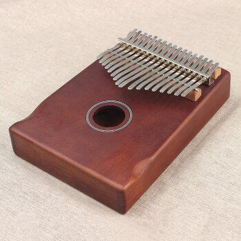 17音の指の琴の亲指の琴のカリンのオルガンの携帯帯用カードのバーレンのカリバーの琴の音の琴は巻きって春风をかけます【コーヒヒの色の弧型のレルス】+绵の琴の包みをプリーズにします+全部の品