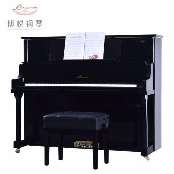 博悦ピアノ家庭用縦型ピノ教育用アップグレード試験演奏用琴N 125 A黒