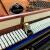 ボーダーウィン(Baldwin)の全く新しい縦型ピアノホワイトハウス御用達ブランドBP 5が明るくて赤い黒色です。