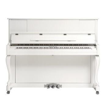 ミドウェル(MIDWAY)ドイツ工芸のインプレスの全く新しい縦型ピアノUM-23プロ用の演奏教育用ピアノ+自宅に送り届けて123 cm高さの象牙白色+配達します。