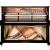 FIONAフレディ原装入力IJF-500縦型ピアノ桃の芯の木のフォークが光っています。