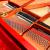 ハロドサ(HARRODSER)原装输入グーラドピアノプロ用ピアノHG-158赤