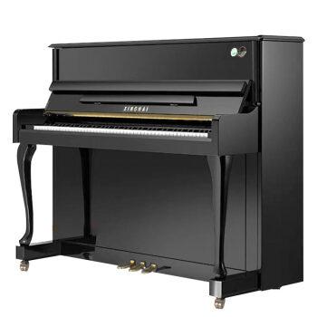 スタジオァ-シインXU-120 B黒縦型ピアノドイツアインプレット子どもの初心者家庭練習プロ用アップグレード試験共通